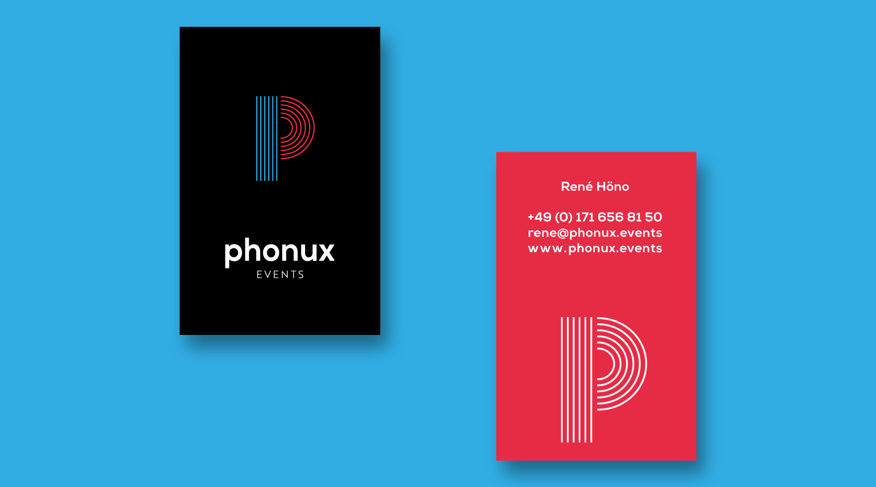 business-card-design-phonux-events-agency-berlin
