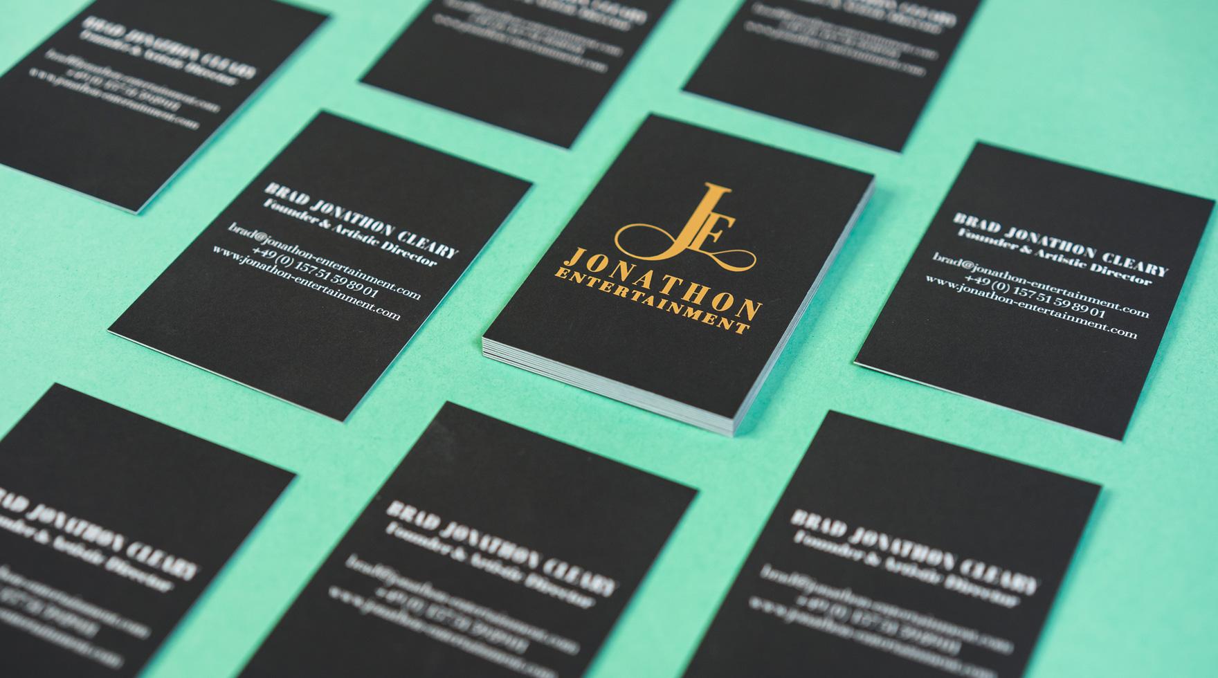 Visitenkarten-design-jonathon-entertainment-agentur-berlin
