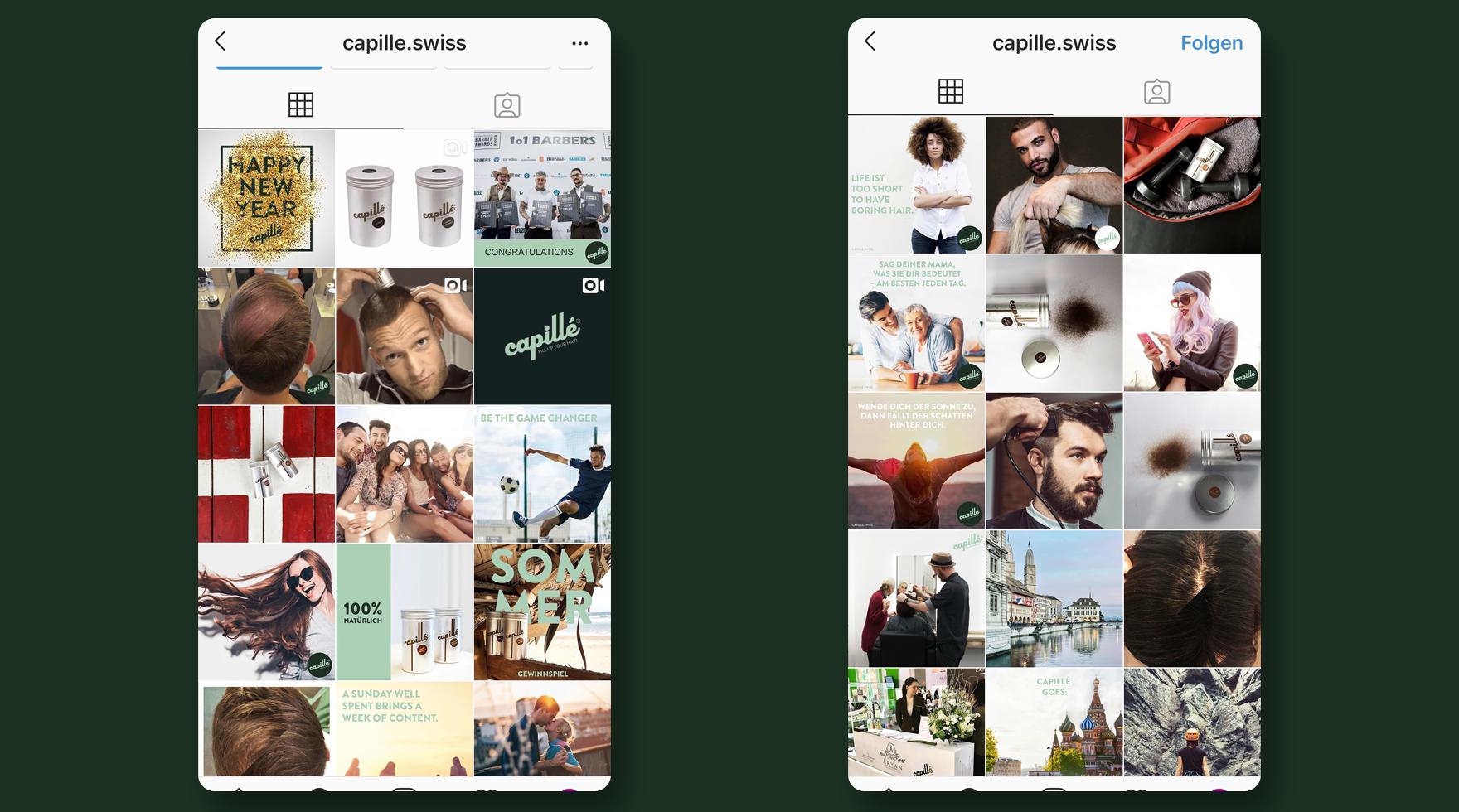 instagram-capille-schweiz-agentur