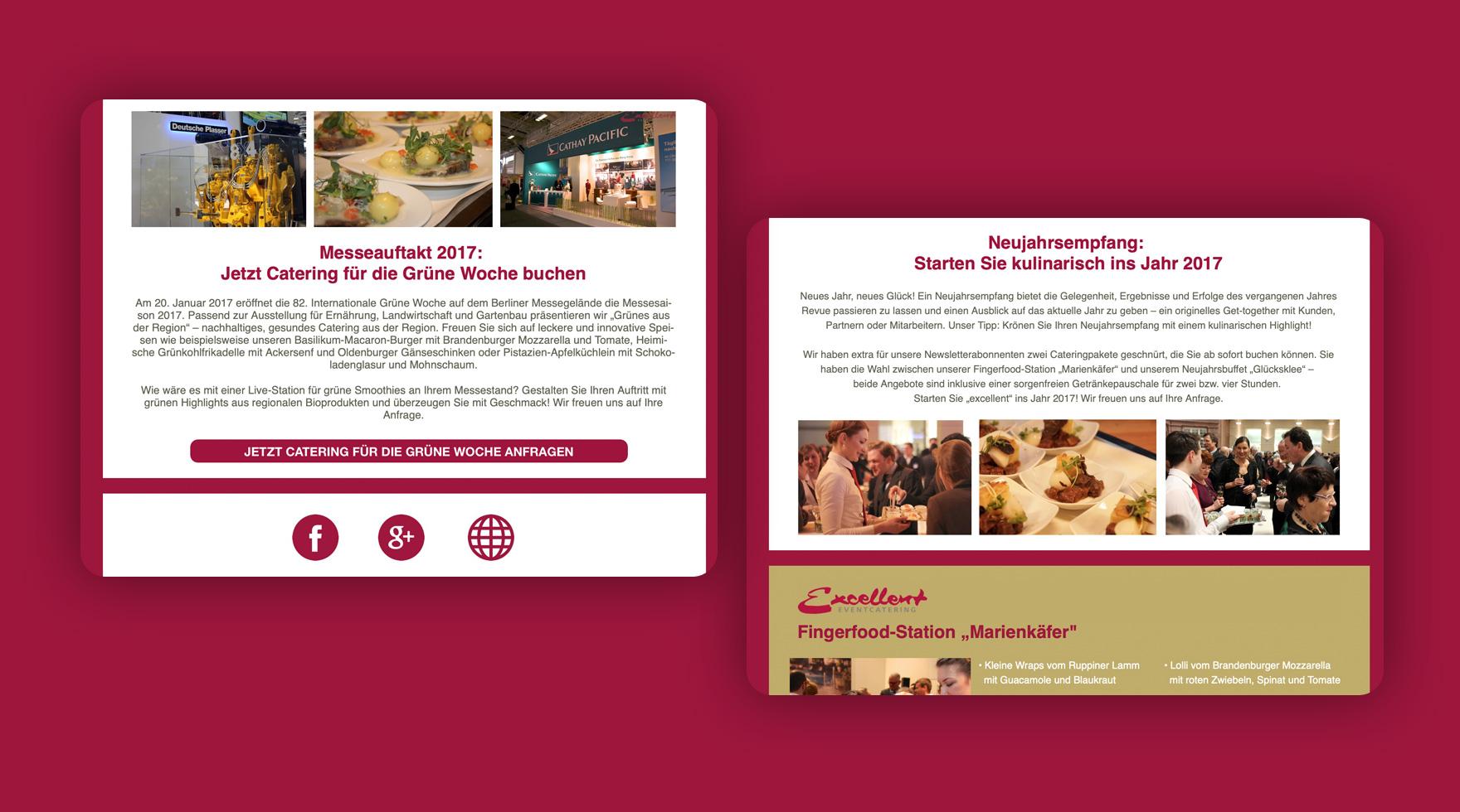 newsletter-design-food-event-agentur