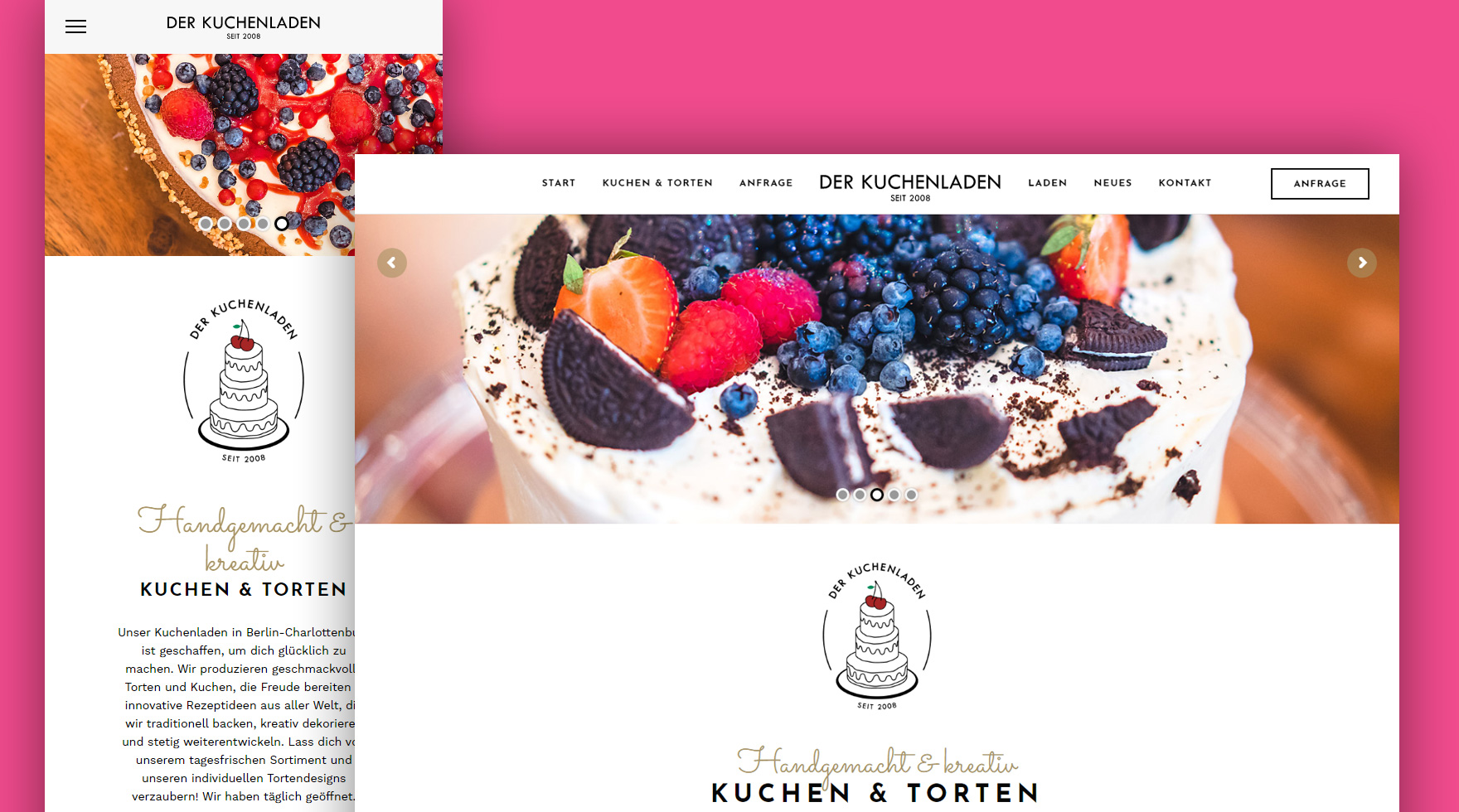 responsive-design-website-kuchenladen-berlin-agency