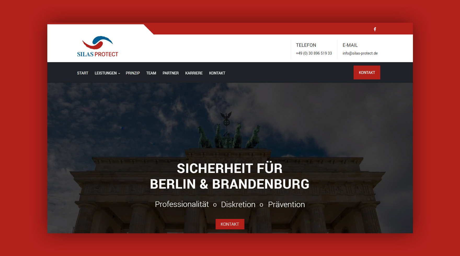 website-layout-silas-protect-berlin-agentur