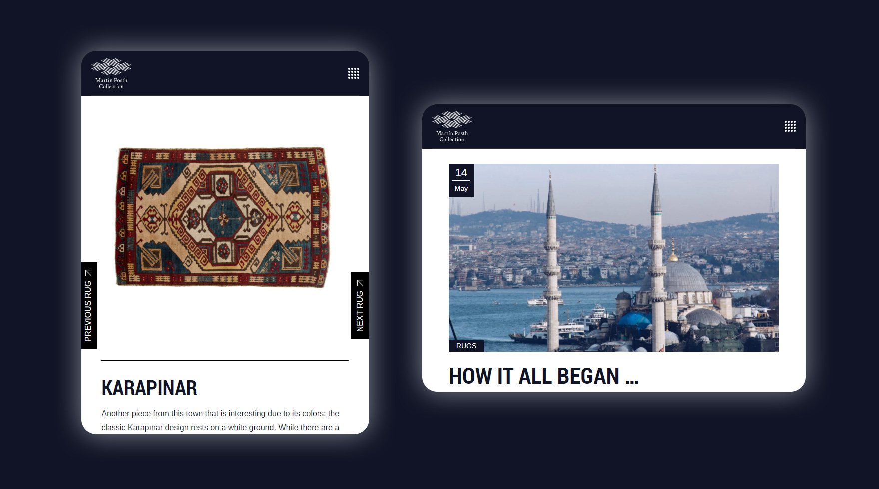 martin-posth-collection-tablet-layout-website-webkreation